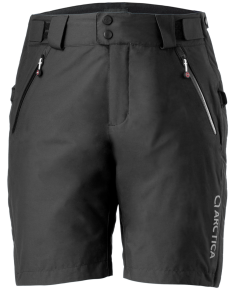 Race Training Shorts Black Front