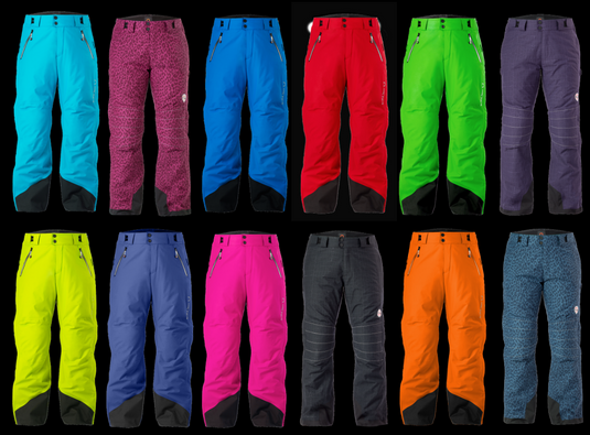 Full side zip ski pant headquarters. 9 colors. 4 prints. Adult. Youth. Available 24/7.
